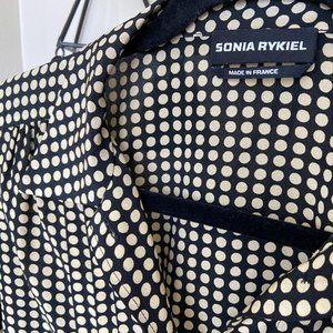 Sonia Rykiel 100% Silk Button Down Blouse